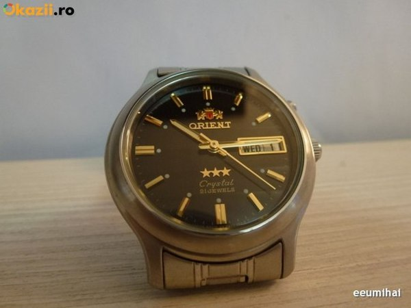 Бу часы orient automatic 21 jewels