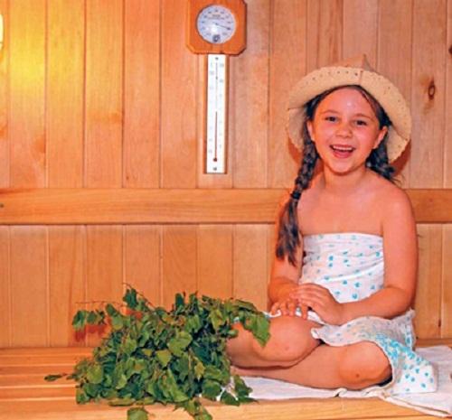 Девочка в русской бане фото 300-465