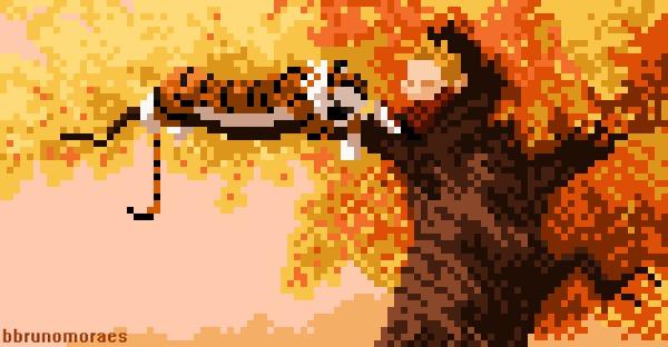 Pixel & Digital Art Гифка, Картинки, Компьютерные игры, Ретро-Игры, Творчество, Художник, Длиннопост