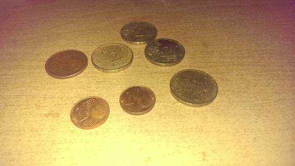 Настало время достать сувенирные купюры и монеты Евротур, Курс валют, Евро, Находка, В закромах, Сувениры, Монета