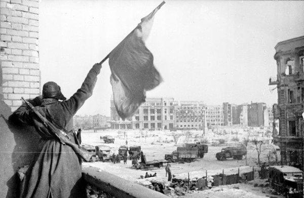 С праздником, товарищи! Сталинград, Великая Отечественная война, Война, Победа, Праздники, День воинской славы, 2 февраля