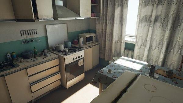 Постсоветская кухня на Unreal Engine 4 совок, кухня, unreal engine 4, какфото