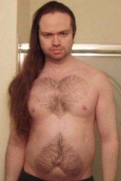 Волосатый женский