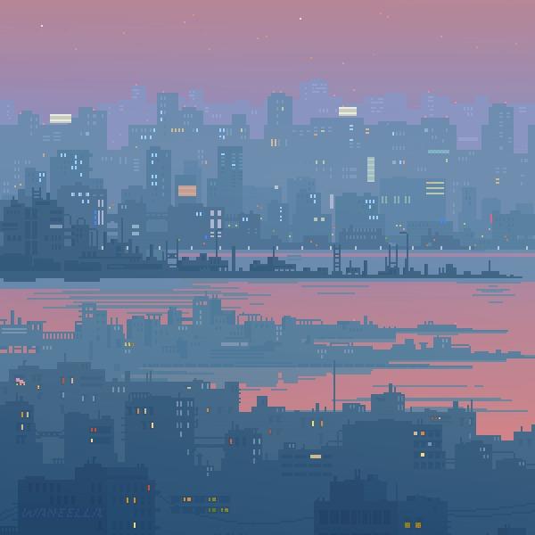 Pixel & Digital Art #3 by Waneella Pixel art, Творчество, Художник, Гифка, Длиннопост