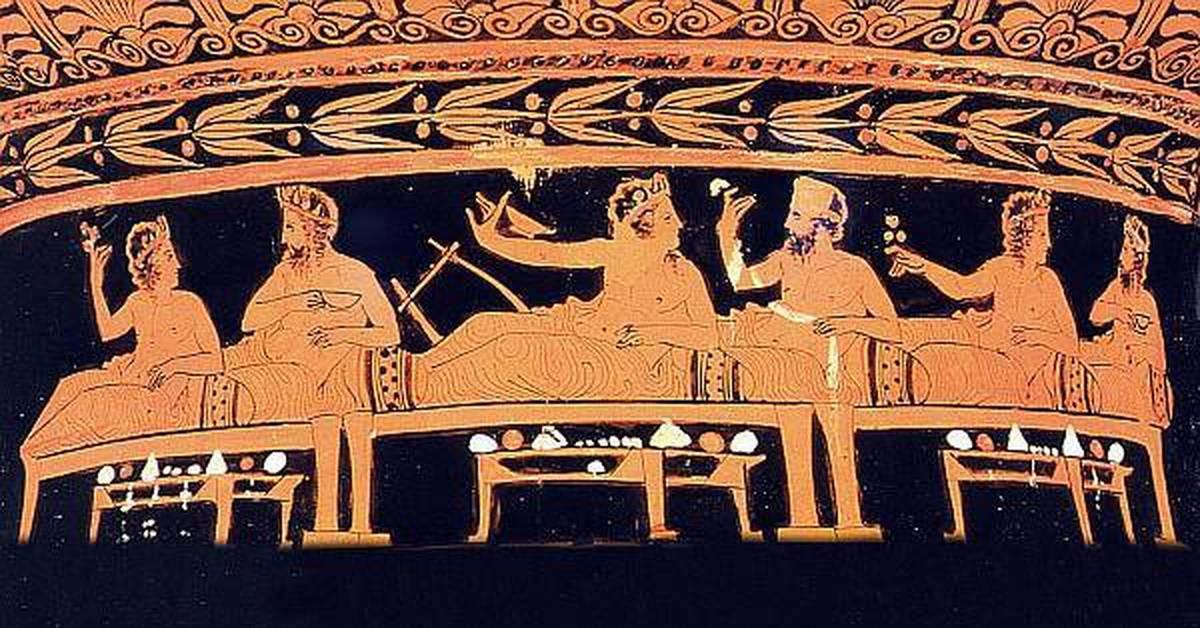 Греки были умеренны в еде и питье гдз