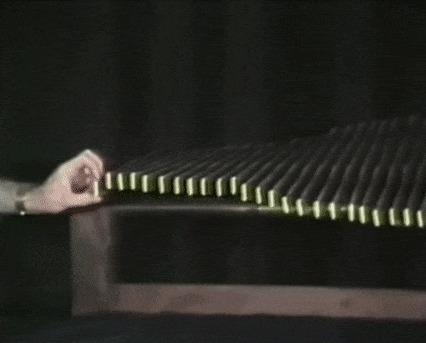 Волны Физика, Эксперимент, Волна, Колебания, Интересное, Гифка, Длиннопост