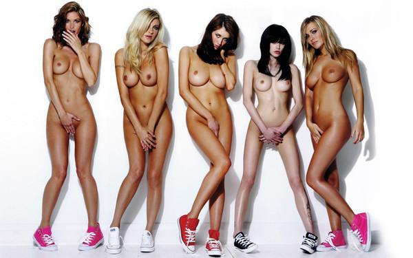 фотосеты голых моделей