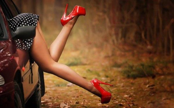 Девушки в чулках и автомобили — 15