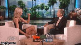 Heidi Klum на Ellen DeGeneres Show