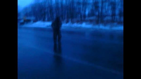 И о погоде в Приморском крае Погода, Приморский край, Дождь, Гололёд, ДТП, Гифка, Длиннопост