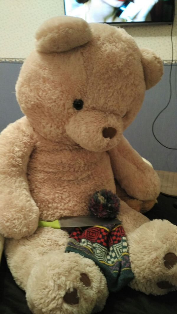 Забыл у товарища в машине шапку Выкуп, Медведь, Шапка, Нож, Ириски, Записки, Whatsapp, Длиннопост