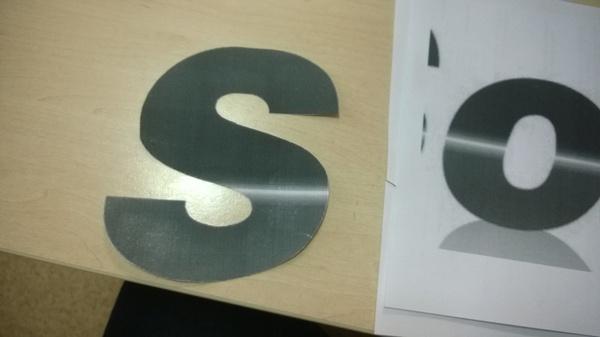 Как сделать объемный логотип