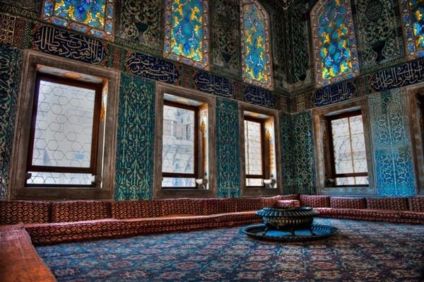 Стамбул Гарем дворца Топкапы где жила Роксолана