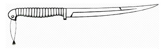 Засапожный нож Древней Руси. Засапожный нож, история, нож, холодное оружие, Оружие, гифка, длиннопост