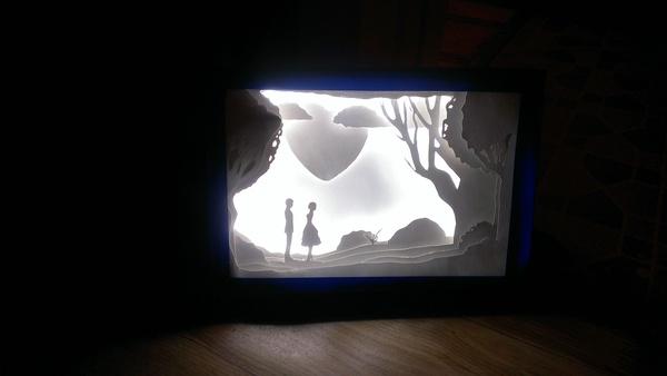 Обещанный Lightbox Лайтбокс, 14 февраля, Подарок, Длиннопост