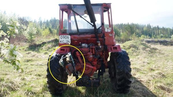 Бензопила вместо стартера Трактор, Бензопила, Стартёр, Как завести Т-16, Самоходное шасси