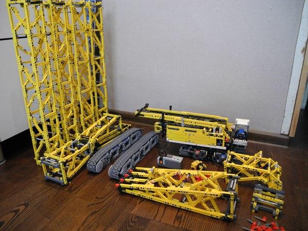 Lego Liebherr LR 1200 (самоделка) Lego, Техника, Lego technic, Лего, Самоделки, Liebherr, Я у мамы инженер, Длиннопост