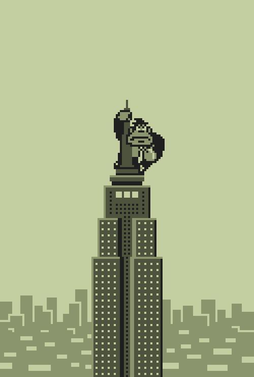 Pixel & Digital Art #6 by Mazeon Pixel art, Цифровой рисунок, Творчество, Гифка, Художник, Битые пиксели, Длиннопост