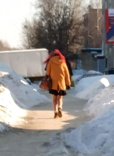 Этого я не понимаю... Зима, Мороз, Девушки, Одежда, Длиннопост