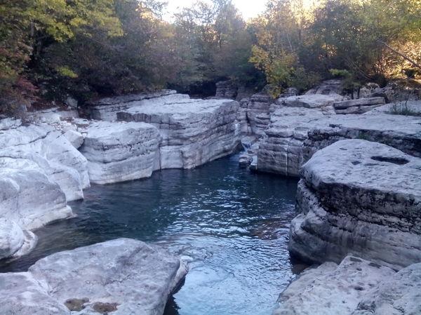 Водопады Кинчха Грузия, Водопад, Мои фото, Длиннопост