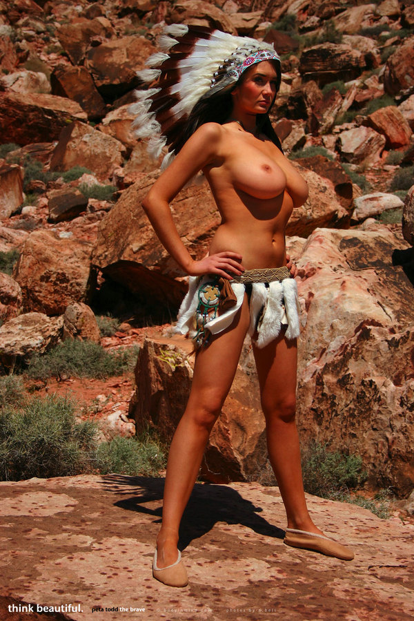 Фото голых девушек индейцев