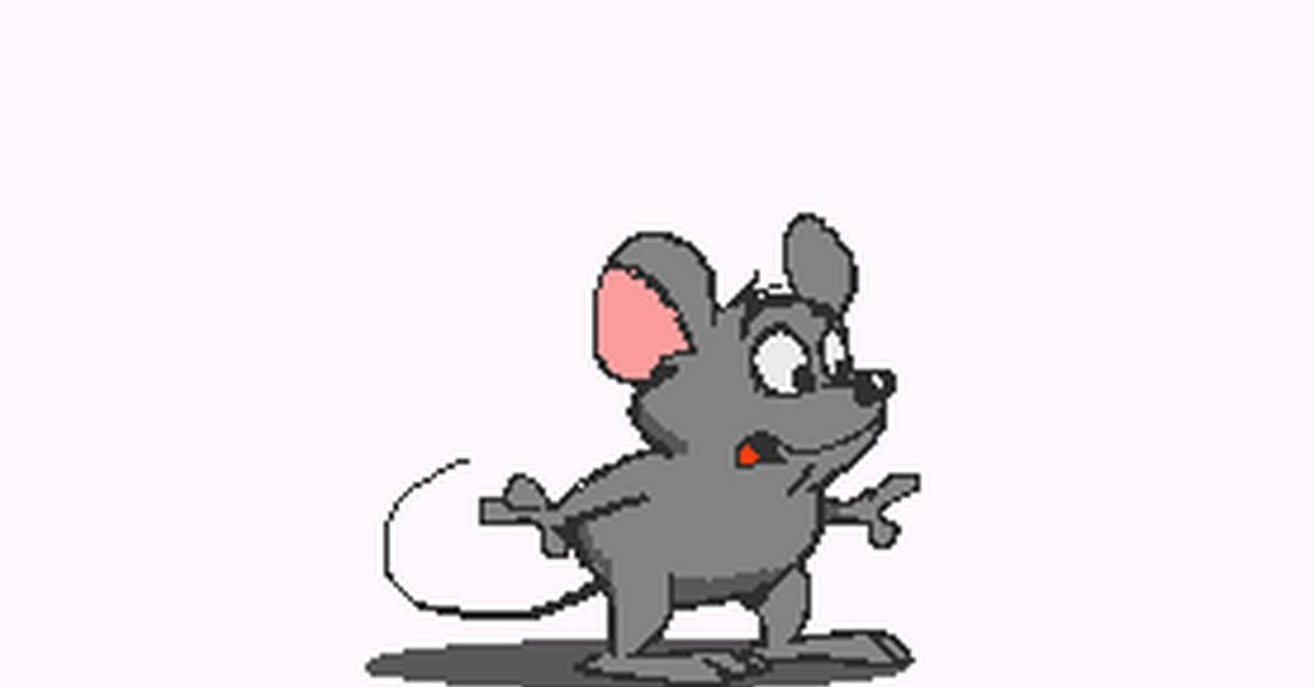 Для, анимация мышки бегают