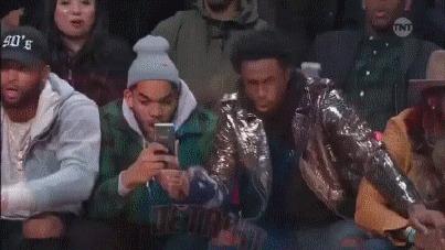 Бросок Аарона Гордона в конкурсе по броскам сверху 2016 Баскетбол, NBA, All Star GAME 2016, Слэмданк, Аарон Гордон, Гифка, Видео