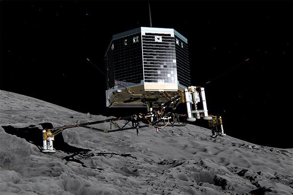 Philae погиб на комете Чурюмова-Герасименко Комета Чурюмова-Герасименко, Комета, Космос, Зонд, Philae, Rosseta