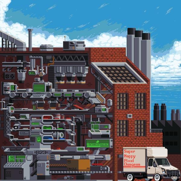 Pixel & Digital Art #8 by Matt Frith Творчество, Художник, Pixel art, Цифровой рисунок, Game art, Длиннопост, Гифка, Подборка
