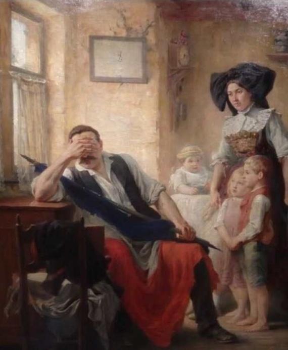Тот момент, когда хотел присоединиться к революции, но вспомнил, что обещал погулять с детьми
