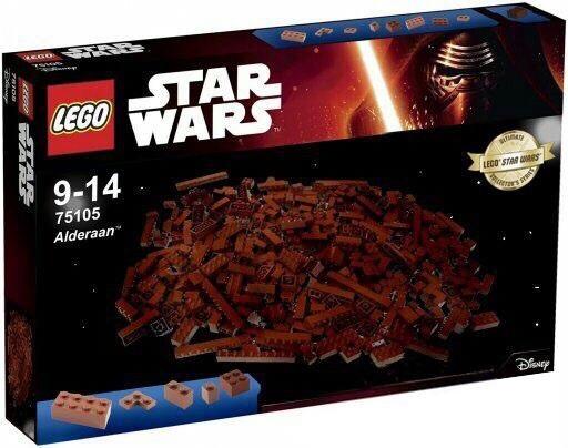 Новый набор Lego - Планета Альдераан