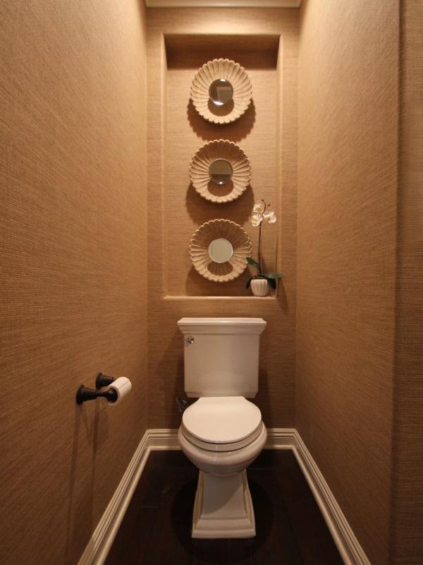 Интерьер туалета: 85 свежих идей дизайна фото