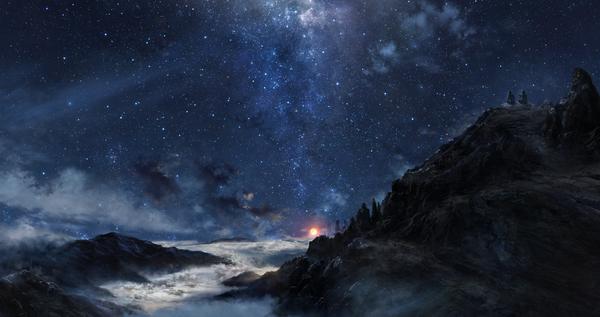 Звёздное небо и космос в картинках 145599072811528704