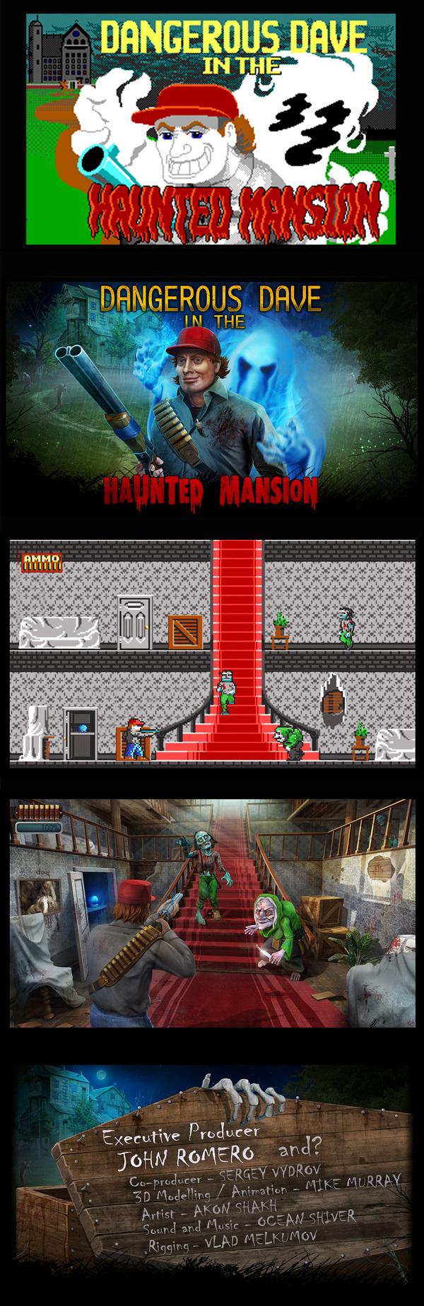Dangerous Dave In Haunted Mansion.. или история неудачи. Dangerous Dave, Gamedev, Длиннопост