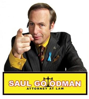О выборе правозащитника. Сол Гудман, Breaking bad, Уголовное дело, Юристы, Лучше звоните Солу