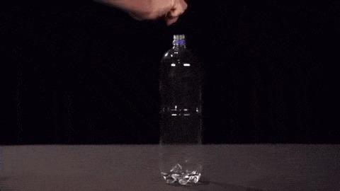 Бутылка + спирт