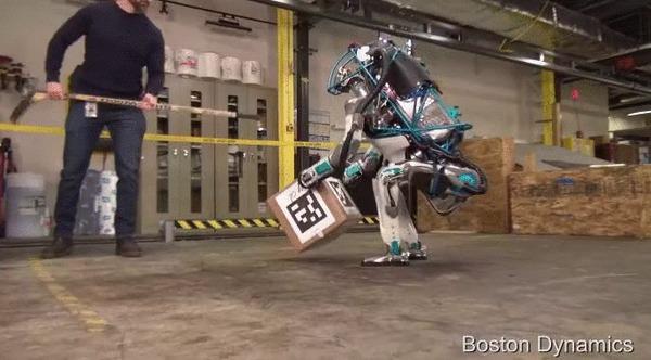 Бостон Динамикс, эта работа для Вас. Boston Dynamics, Четкость движений, Работа, Гифка