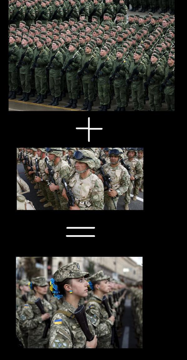 Симбиоз наглядно. Строй, Оружие, Страны, Солдаты, Симбиоз, Украина