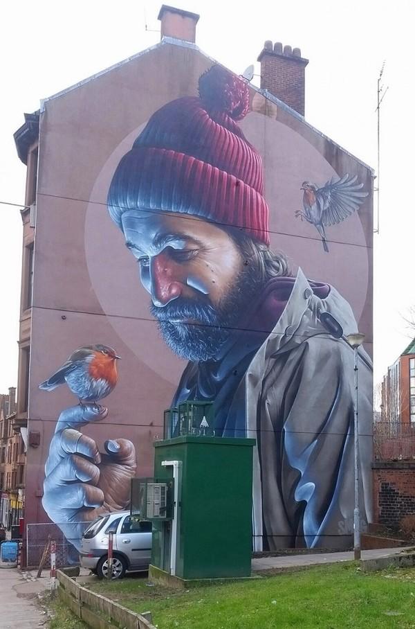 Граффити в Шотландии