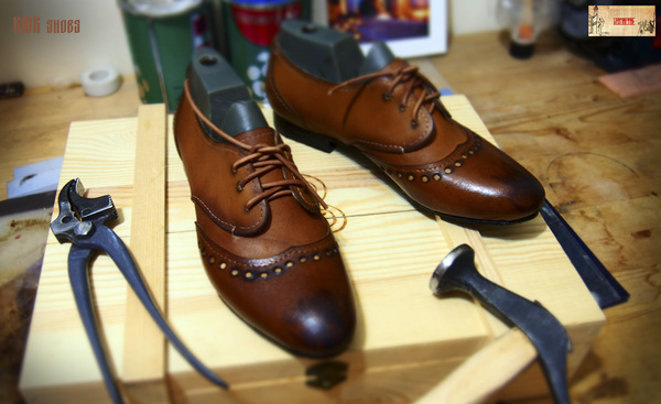 И ещё одну пару доделал обувь, женская обувь, ручная работа, кожа, моё
