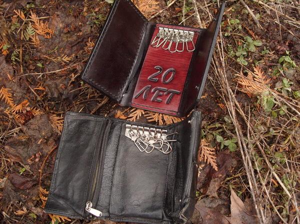 Старое на новое ...ключница Ключница, Ручная работа, Изделия из кожи, Кожа