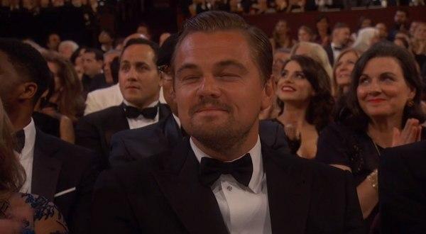 Леонардо ДиКаприо - обладатель Оскара 2016 за лучшую мужскую роль