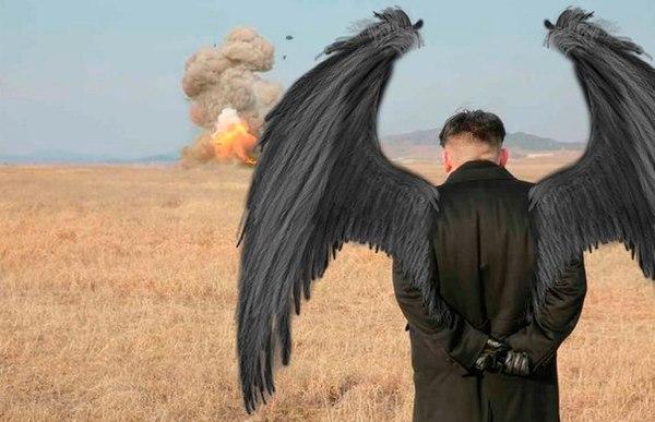 Фотожабы Ким Чен Ын, Учения, Северная корея, Фотожаба, Длиннопост, Лентач