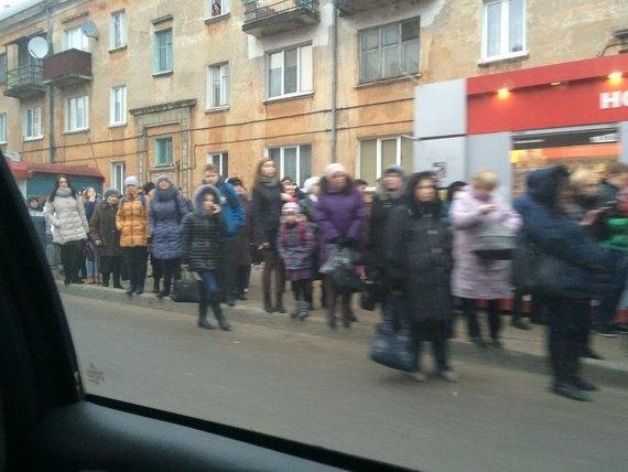 Транспортный коллапс в Калининграде Калининград, общественный транспорт, автобус, Коллапс, длиннопост