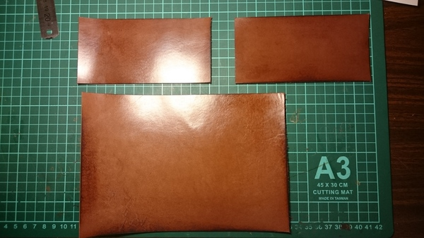Делаем обложку для паспорта из кожи своими руками кожа, ручная работа, изделия из кожи, длиннопост, паспорт, обложка, Своими руками, рукоделие