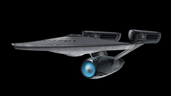 Немного увлёкся 3ds Max 3ds Max, USS Enterprise, Constitution class, 3d модель, видео, длиннопост