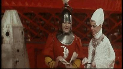 Селфи-палка в фильме 1969 года
