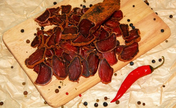 Вяленое мясо вред