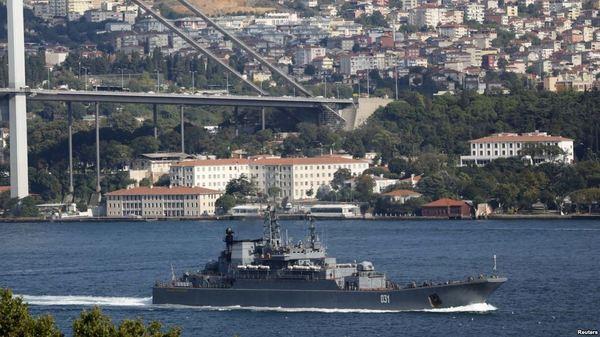 Военные корабли России в Босфоре нервируют и интригуют турок, — Independent. Россия, Сирия, Турция, Политика, Война, Длиннопост