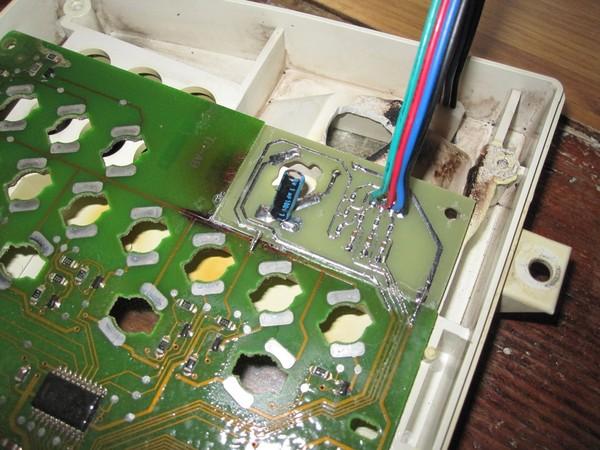 Восстановление обгоревшей печатной платы протезированием печатная плата, восстановление, протезирование, ЛУТ, ремонт, обгорание